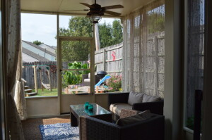 Screened In Porch! Additional Living Space Outdoors to Enjoy!